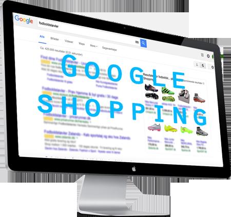 Google Shopping grafik