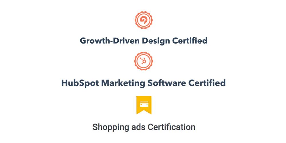 Adplus' certificeringer